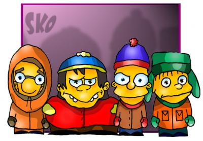 LoS SiMpSoNs En SoUtH PaRk